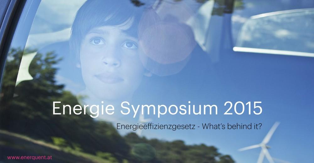 Enerquent - Energie Symposium 2015